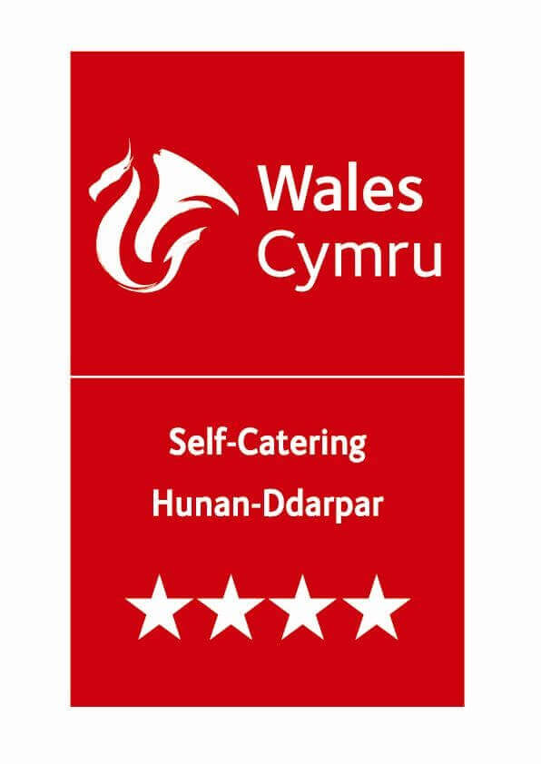 Visit Wales Tourist Board 4* Accreditation Logo